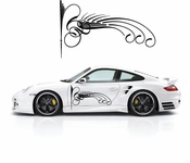 Pinstripe Pinstripes Car graphics Vinyl Decal Sticker Stickers MC324