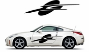Pinstripe Pinstripes Car graphics Vinyl Decal Sticker Stickers MC327