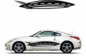 Pinstripe Pinstripes Car graphics Vinyl Decal Sticker Stickers MC339