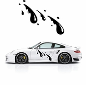 Pinstripe Pinstripes Car graphics Vinyl Decal Sticker Stickers MC341