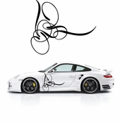 Pinstripe Pinstripes Car graphics Vinyl Decal Sticker Stickers MC346