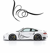 Pinstripe Pinstripes Car graphics Vinyl Decal Sticker Stickers MC348