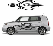 Pinstripe Pinstripes Car graphics Vinyl Decal Sticker Stickers MC365
