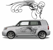Pinstripe Pinstripes Car graphics Vinyl Decal Sticker Stickers MC366
