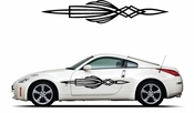 Pinstripe Pinstripes Car graphics Vinyl Decal Sticker Stickers MC369