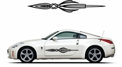 Pinstripe Pinstripes Car graphics Vinyl Decal Sticker Stickers MC371