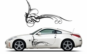 Pinstripe Pinstripes Car graphics Vinyl Decal Sticker Stickers MC374