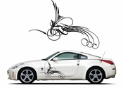 Pinstripe Pinstripes Car graphics Vinyl Decal Sticker Stickers MC376