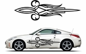Pinstripe Pinstripes Car graphics Vinyl Decal Sticker Stickers MC377