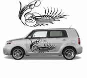 Pinstripe Pinstripes Car graphics Vinyl Decal Sticker Stickers MC380