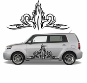 Pinstripe Pinstripes Car graphics Vinyl Decal Sticker Stickers MC383