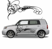 Pinstripe Pinstripes Car graphics Vinyl Decal Sticker Stickers MC386