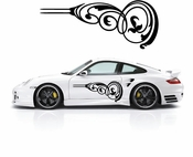 Pinstripe Pinstripes Car graphics Vinyl Decal Sticker Stickers MC389