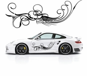 Pinstripe Pinstripes Car graphics Vinyl Decal Sticker Stickers MC392