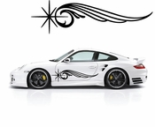 Pinstripe Pinstripes Car graphics Vinyl Decal Sticker Stickers MC393