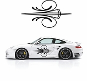 Pinstripe Pinstripes Car graphics Vinyl Decal Sticker Stickers MC395