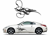 Pinstripe Pinstripes Car graphics Vinyl Decal Sticker Stickers MC400