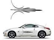 Pinstripe Pinstripes Car graphics Vinyl Decal Sticker Stickers MC412