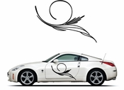 Pinstripe Pinstripes Car graphics Vinyl Decal Sticker Stickers MC413