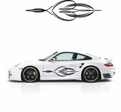 Pinstripe Pinstripes Car graphics Vinyl Decal Sticker Stickers MC427