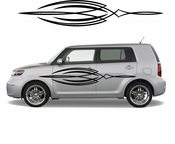 Pinstripe Pinstripes Car graphics Vinyl Decal Sticker Stickers MC431
