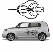 Pinstripe Pinstripes Car graphics Vinyl Decal Sticker Stickers MC438