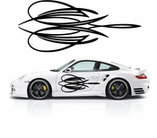 Pinstripe Pinstripes Car graphics Vinyl Decal Sticker Stickers MC442