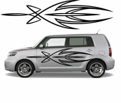 Pinstripe Pinstripes Car graphics Vinyl Decal Sticker Stickers MC447