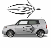 Pinstripe Pinstripes Car graphics Vinyl Decal Sticker Stickers MC449