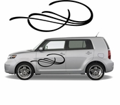 Pinstripe Pinstripes Car graphics Vinyl Decal Sticker Stickers MC495