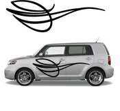 Pinstripe Pinstripes Car graphics Vinyl Decal Sticker Stickers MC499