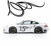 Pinstripe Pinstripes Car graphics Vinyl Decal Sticker Stickers MC502