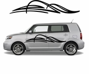 Pinstripe Pinstripes Car graphics Vinyl Decal Sticker Stickers MC504