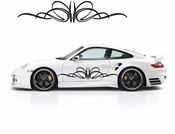 Pinstripe Pinstripes Car graphics Vinyl Decal Sticker Stickers MC505