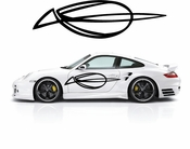 Pinstripe Pinstripes Car graphics Vinyl Decal Sticker Stickers MC520