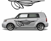 Pinstripe Pinstripes Car graphics Vinyl Decal Sticker Stickers MC524