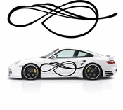 Pinstripe Pinstripes Car graphics Vinyl Decal Sticker Stickers MC538