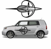 Pinstripe Pinstripes Car graphics Vinyl Decal Sticker Stickers MC539