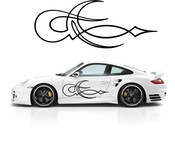 Pinstripe Pinstripes Car graphics Vinyl Decal Sticker Stickers MC543