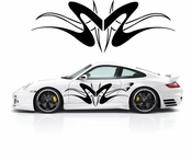 Pinstripe Pinstripes Car graphics Vinyl Decal Sticker Stickers MC545