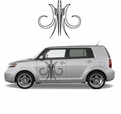 Pinstripe Pinstripes Car graphics Vinyl Decal Sticker Stickers MC550