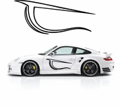 Pinstripe Pinstripes Car graphics Vinyl Decal Sticker Stickers MC551
