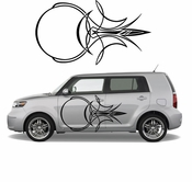 Pinstripe Pinstripes Car graphics Vinyl Decal Sticker Stickers MC552
