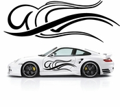 Pinstripe Pinstripes Car graphics Vinyl Decal Sticker Stickers MC553