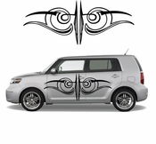 Pinstripe Pinstripes Car graphics Vinyl Decal Sticker Stickers MC554