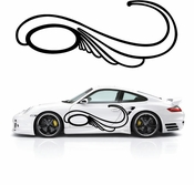 Pinstripe Pinstripes Car graphics Vinyl Decal Sticker Stickers MC559