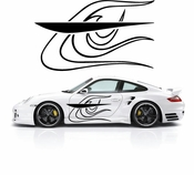 Pinstripe Pinstripes Car graphics Vinyl Decal Sticker Stickers MC560
