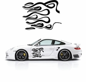 Pinstripe Pinstripes Car graphics Vinyl Decal Sticker Stickers MC561