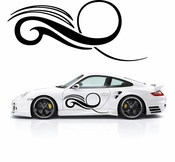 Pinstripe Pinstripes Car graphics Vinyl Decal Sticker Stickers MC563