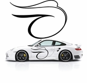 Pinstripe Pinstripes Car graphics Vinyl Decal Sticker Stickers MC564